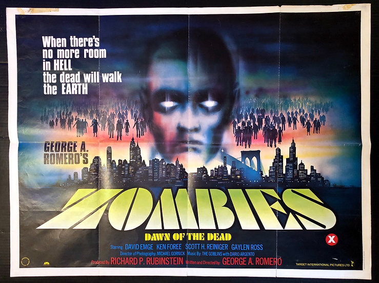 Dawn of the Dead 1980 - SOLD