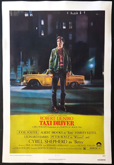 Taxi Driver 1976 - SOLD