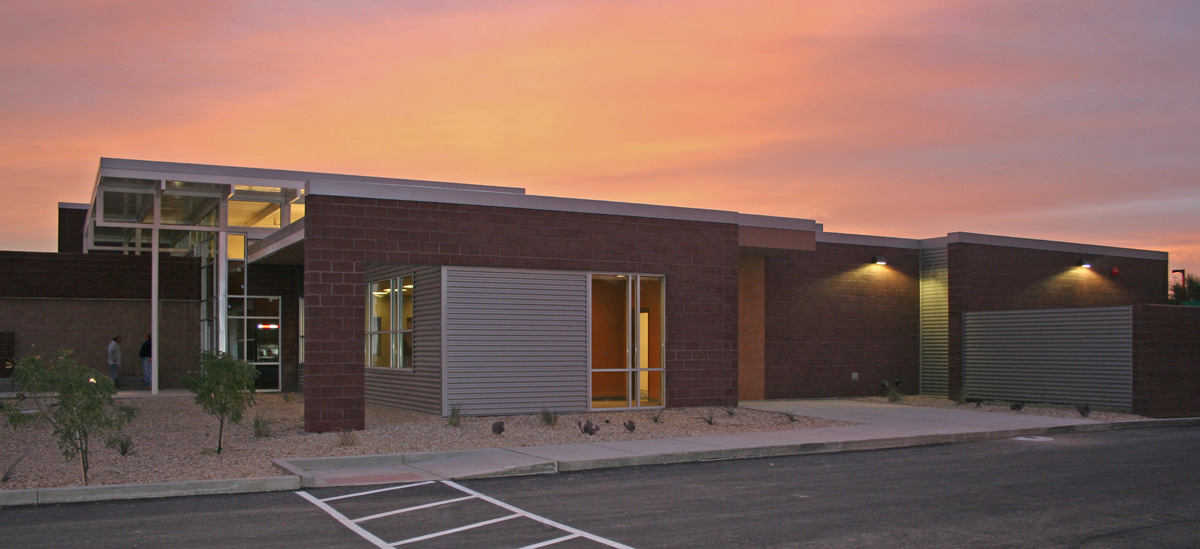 CRIT Detention Faciltiy, Parker, AZ Dusk.jpg