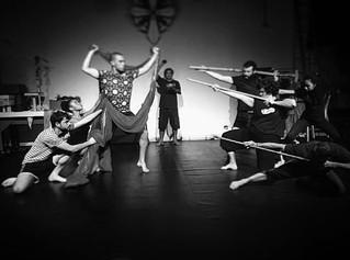 Elenco de Macbeth faz seu primeiro experimento de cena
