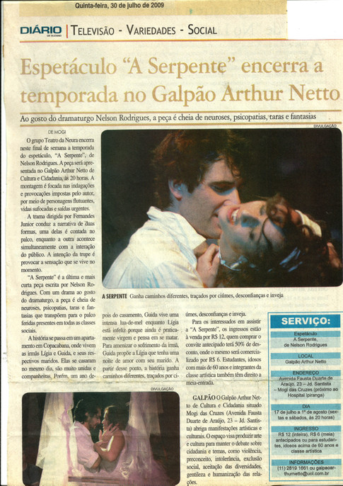 Apresentação Galpão Arthur Netto