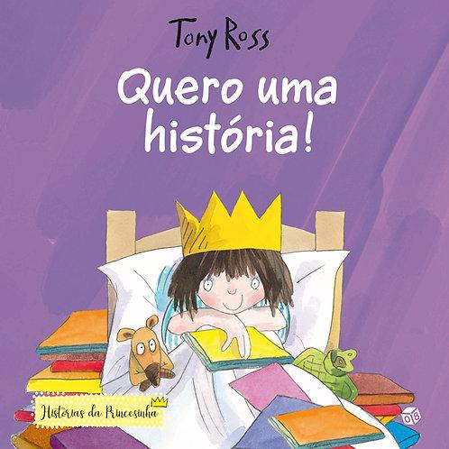 Histórias da Princesinha ― Quero uma história!: Livro de histórias