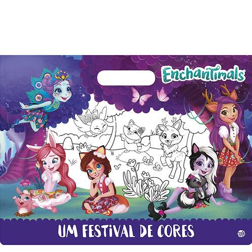 Enchantimals - Um festival de cores: Livro de pintar malinha