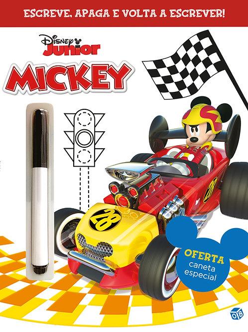 Mickey e os Superpilotos – Escreve e apaga!: com oferta de caneta especial