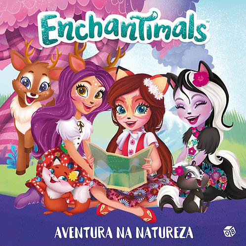 Enchantimals - Aventura na natureza: Livro de histórias