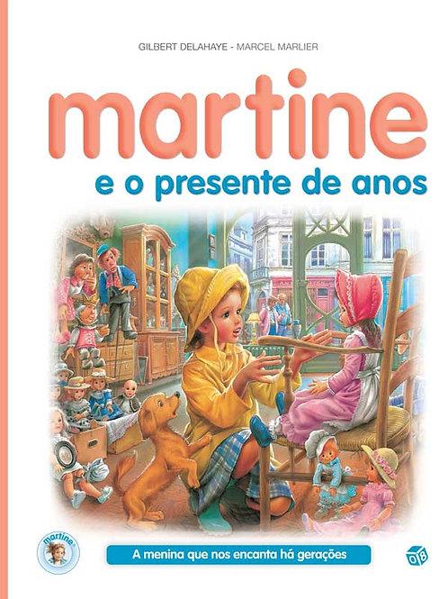 Martine e o presente de anos: Livro de histórias