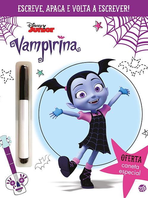 Vampirina - Escreve, apaga e volta a escrever!: com oferta de caneta especial