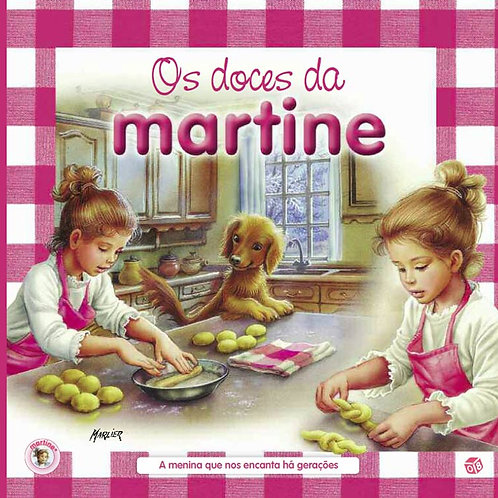 Martine - Os doces: Livro de receitas