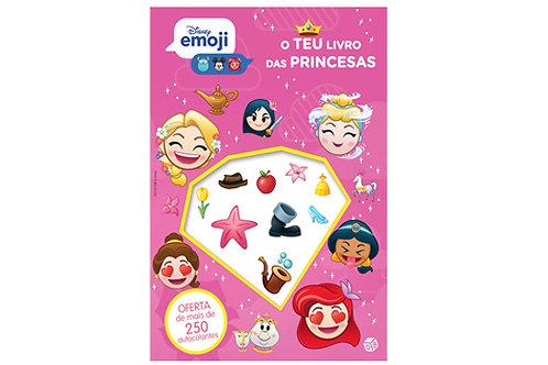 Disney Emoji - O teu livro de princesas: Livro de atividades com autocolantes