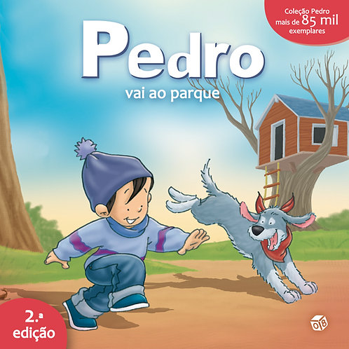 Pedro vai ao parque: Livro de histórias