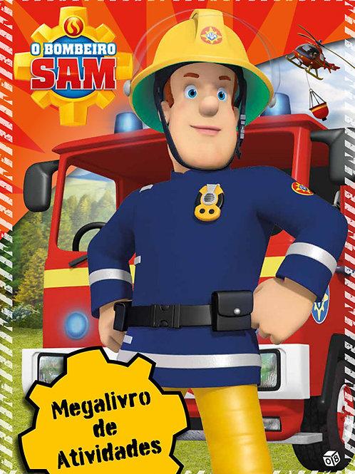 O Bombeiro Sam: Megalivro de atividades