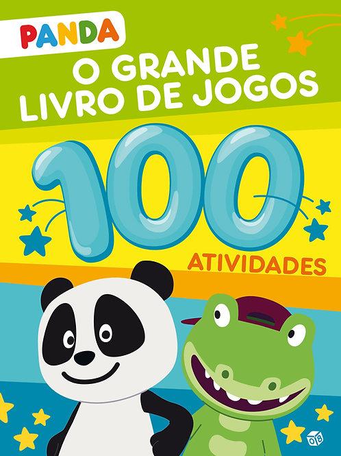 Panda - O grande livro de jogos: Livro com 100 atividades