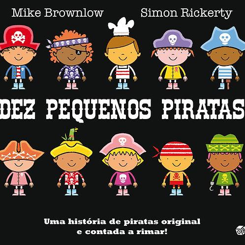 Dez pequenos piratas: Livro de histórias