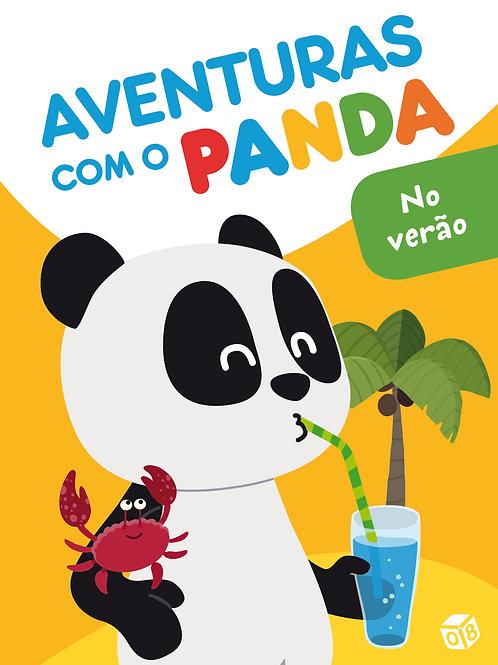 Aventuras com o Panda - No verão: Livro de histórias