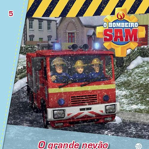 O Bombeiro Sam - O grande nevão: Livro de histórias