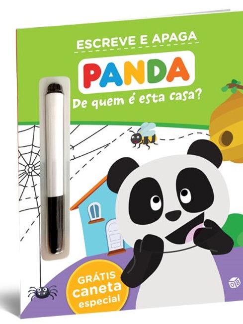 Panda - De quem é esta casa?: Livro de atividades com oferta de caneta especial