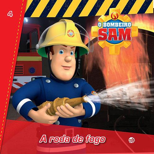 O Bombeiro Sam - A roda de fogo: Livro de histórias