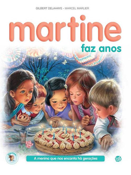 Martine- Livro de histórias: Martine faz anos