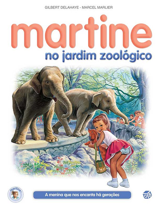 Martine no jardim zoológico: Livro de histórias