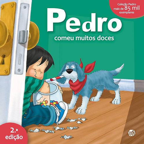 Pedro comeu muitos doces: Livro de histórias