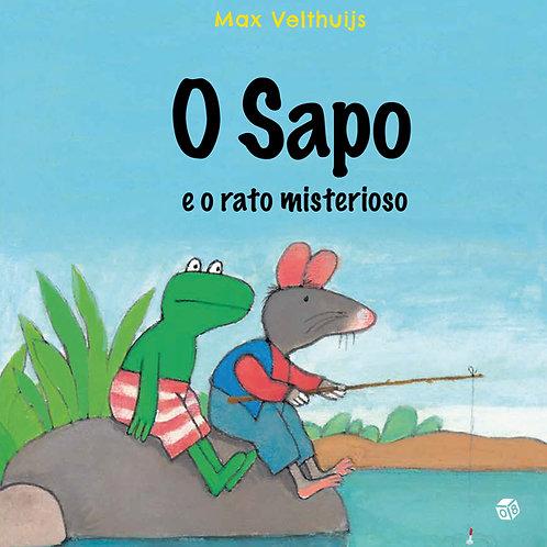 O Sapo e o rato misterioso: Livro de histórias