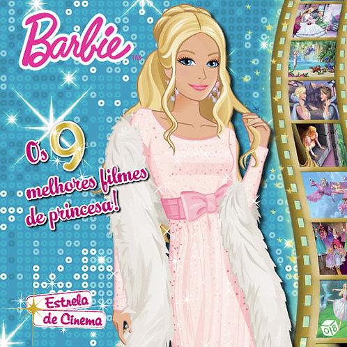 Barbie Estrela de Cinema - Livro de histórias: Os 9 melhores filmes de princesa