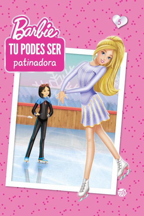 Barbie - Tu podes ser patinadora: Livro de históriass