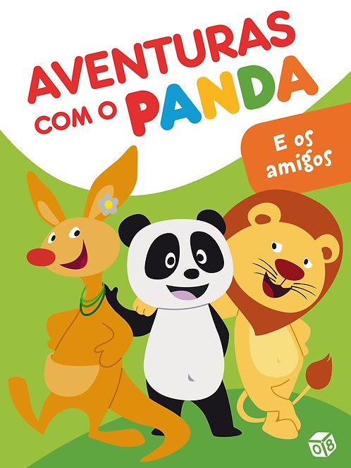 Aventuras com o Panda - E os amigos: Livro de histórias