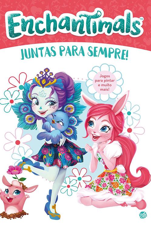 Enchantimals - Juntas para sempre!: Livro de pintar