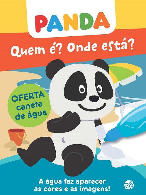Panda ― Quem é? Onde está?: Livro de atividades com oferta de caneta de água