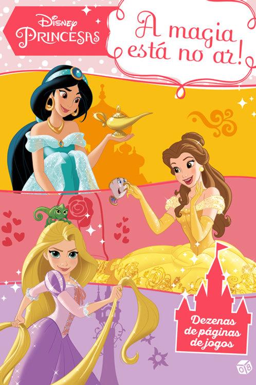 Disney Princesas - A magia está no ar: Livro de atividades com oferta de autocol