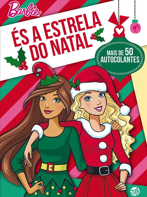Barbie - És a Estrela do Natal: Livro de atividades com oferta de autocolantes