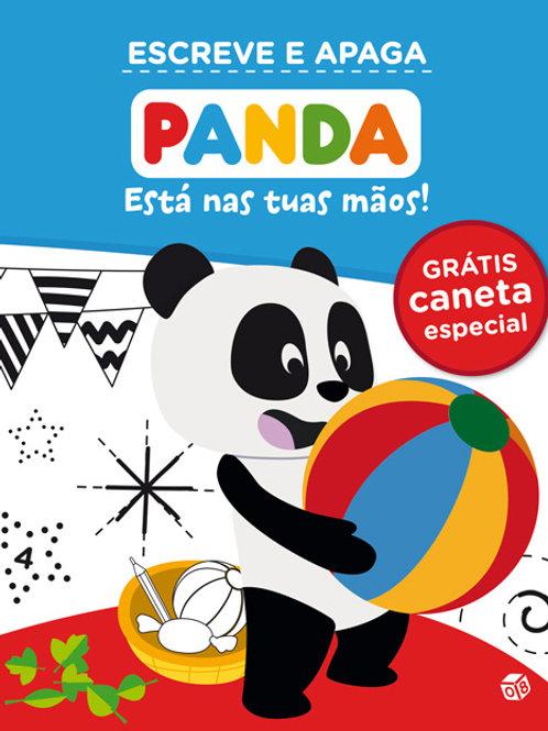 Panda - Está nas tuas mãos: Livro de atividades com oferta de caneta especial