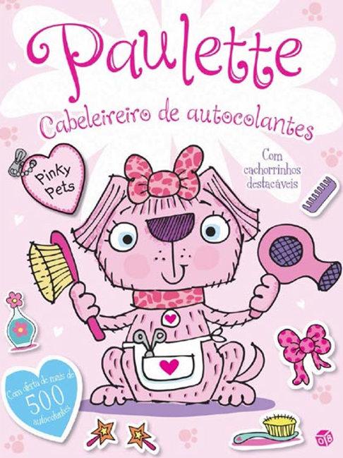 Paulette Cabeleireiro de autocolantes:Livro de atividades c/ oferta autocolantes