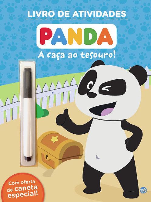 Panda - A caça ao tesouro!: Livro de atividades com oferta de caneta especial