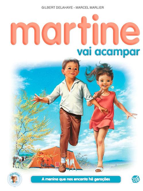 Martine vai acampar: Livro de histórias