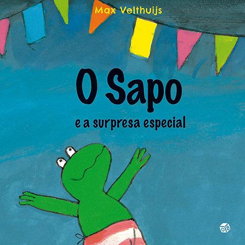 O Sapo e a surpresa especial: Livro de histórias
