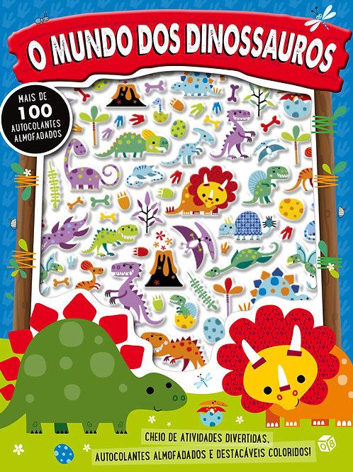 Autocolantes fofos: O mundo dos dinossauros: Livro de atividades