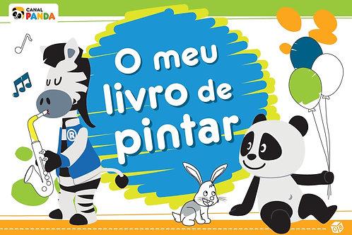 Panda - O meu livro de pintar: Livro de atividades com oferta de 36 canetas