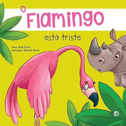 O Flamingo está triste: Livro de histórias