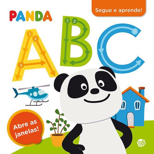 Panda - Segue e aprende ABC: Livro de atividades