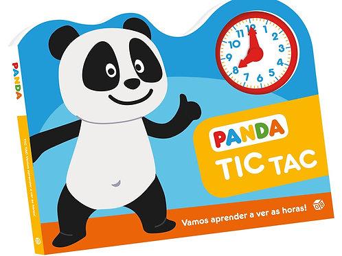 Panda - Tic Tac Vamos aprender a ver as horas!: Livro de histórias