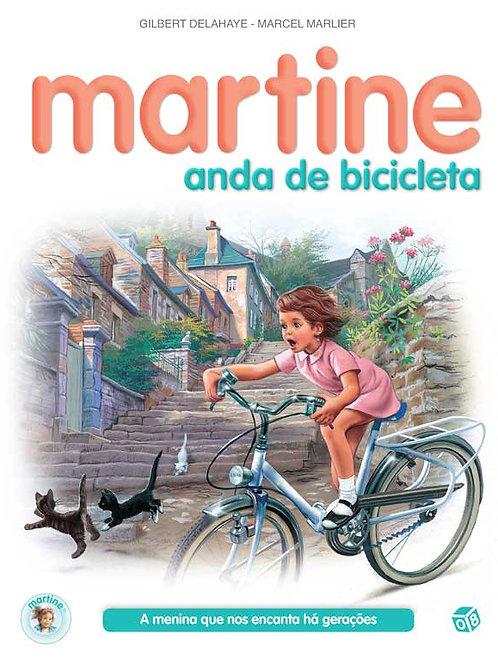 Martine anda de bicicleta: Livro de histórias