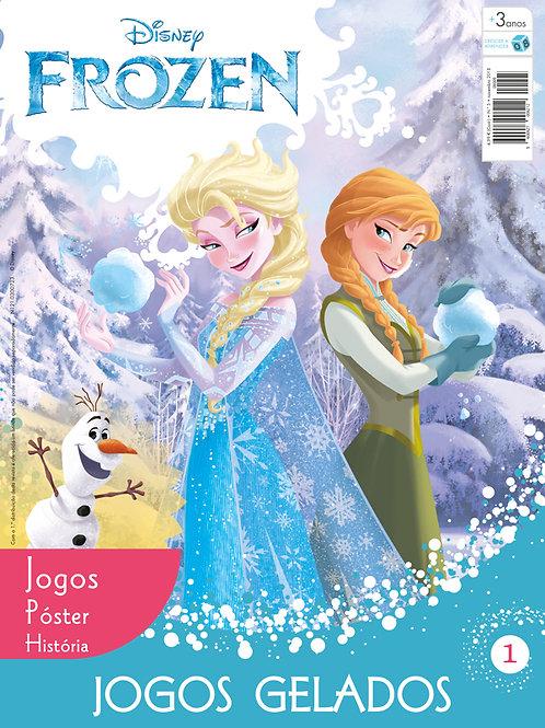 Frozen - Revista n.º 1 com oferta de brinde