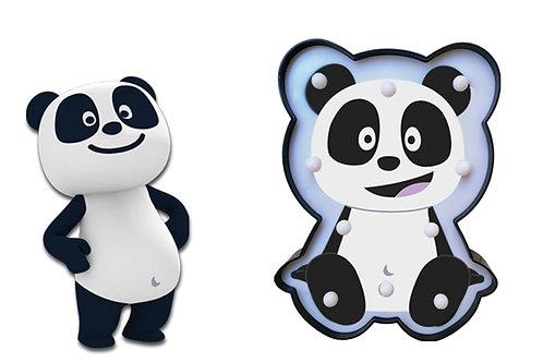 Panda - Pacote de revistas com oferta de Quadro de Luz