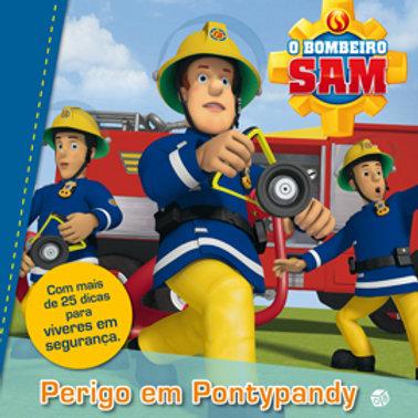 Bombeiro Sam - Perigo em Pontypandy: Livro de histórias
