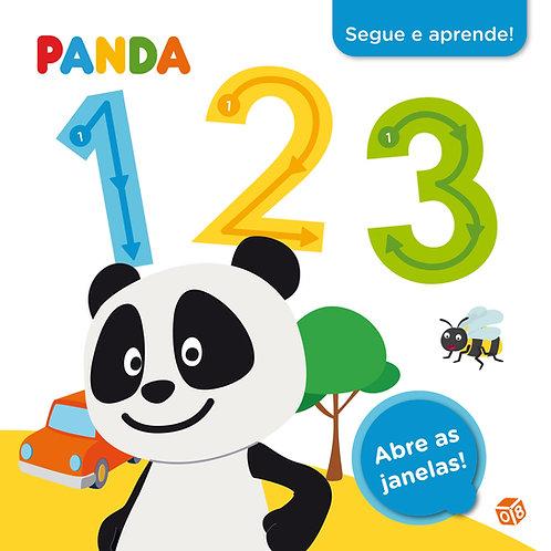 Panda - Segue e aprende 123: Livro de atividades