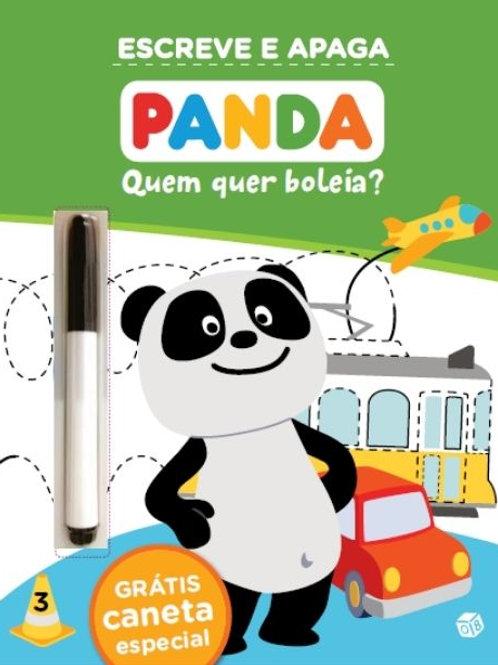 Panda - Quem quer boleia?: Livro de atividades com oferta de caneta especial