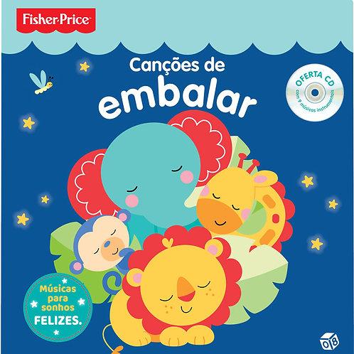 Fisher Price - Canções de embalar: Livro de histórias com oferta de CD
