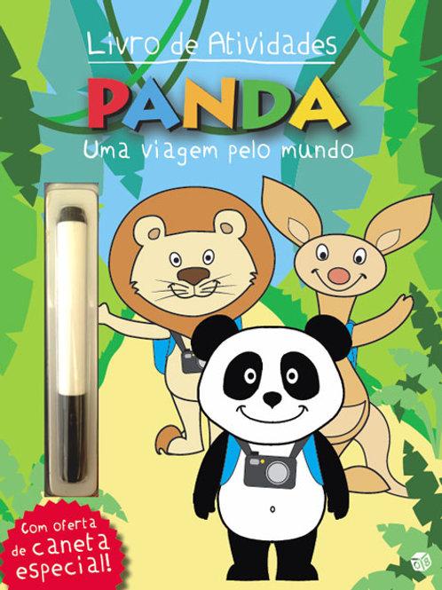 Panda - Livro de atividades com oferta de caneta especial: Uma viagem pelo mundo